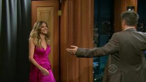 Sarah Chalke @ Late Late Show with Craig Ferguson hdtv720p [2011.05.09]