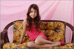 Mariyam pink dress teenmodeling tv