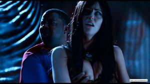 Kenan Thompson fondling Diora Baird's boobs - Stan Helsing (2009)