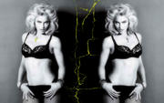 Madonna Collage-Wallpaper x 1
