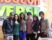 Victoria Justice, Elizabeth Gillies & Daniella Monet - meet & greet at the Mall of America 9/18/11