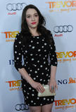Кэт Деннингс, фото 220. Kat Dennings The Trevor Project's 2011 Trevor Live! at The Hollywood Palladium on December 4, 2011 in Los Angeles, California, foto 220